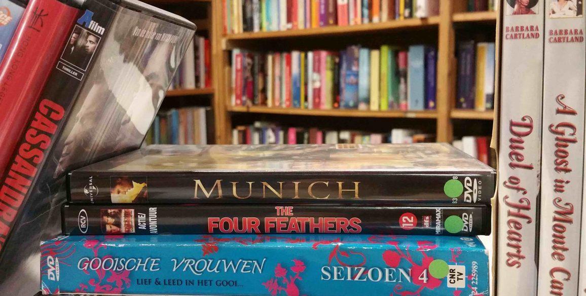 30 maart absurd lage prijzen tijdens de boekenmarkt en dvd-outlet