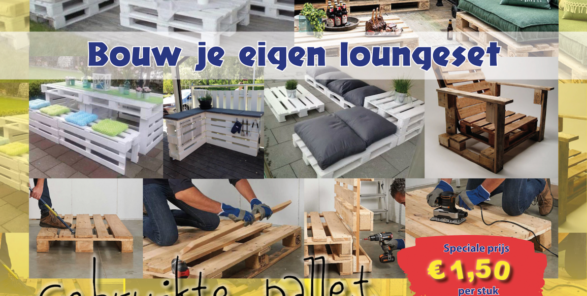 Bouw je eigen loungeset!